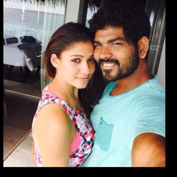 Nayanthara and Vignesh Shivan Selfie - Photos