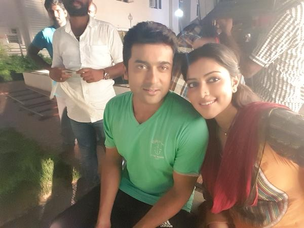 Suriya,Amala Paul,Suriya at Haiku Wrap,Amala Paul at Haiku Wrap,Suriya and Amala Paul,Haiku Wrap,Haiku Wrap pics,Suriya pics,Suriya images,Suriya photos,Amala Paul pics,Amala Paul images,Amala Paul stills,Haiku,Haiku movie