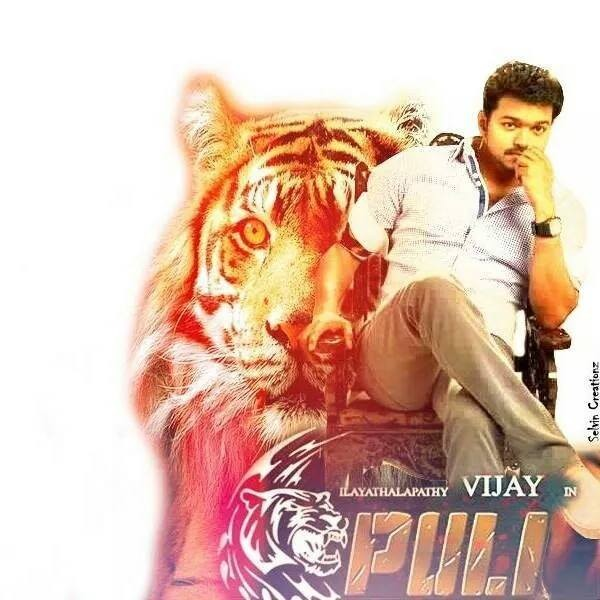 Puli first look,Puli poster,vijay,Vijay's Fan Made Poster,Vijay in puli,Puli movie poster,vijay birthday,Vijay's Puli first look,Vijay's Puli teaser