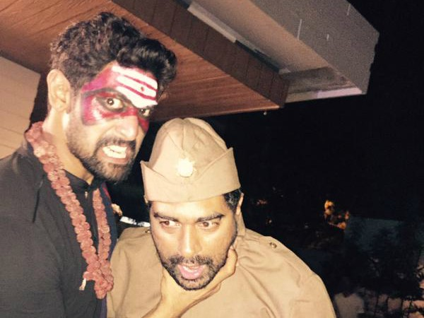 Baahubali,Baahubali Theme Party,Baahubali Theme Party pics,Baahubali Theme Party images,anushka shetty,rana daggubati,nani