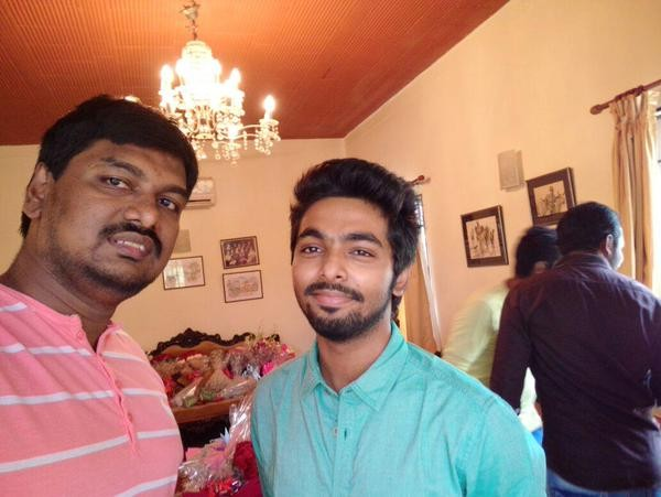 Vijay 59 Movie Launch,GV Prakash at Vijay 59 Movie Launch,GV Prakash,actor GV Prakash,Vijay 59 Movie Launch pics,Vijay 59 Movie Launch images,Vijay 59 Movie Launch photos,Vijay 59 Movie Launch stills,Vijay 59 Movie Launch pictures