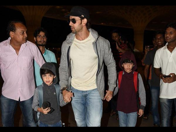 Hrithik Roshan,actor Hrithik Roshan,Hrithik Roshan Vacations with Sons in South Africa,Hrithik Roshan Vacations pics,Hrithik Roshan Vacations images,Hrithik Roshan Vacations with Sons,Hrithik Roshan and sons Hridhaan,Hrehaan,Hridhaan,Hrehaan