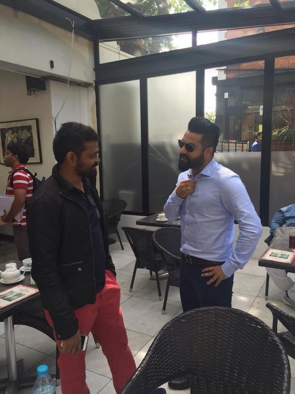Sukumar,telugu movie Sukumar,Jr NTR's Working stills from Sukumar Movie,NTR 25,Sukumar Movie Working stills,Sukumar working stills,actor Jr NTR,Jr NTR pics,Jr NTR images,Jr NTR photos,Jr NTR stills