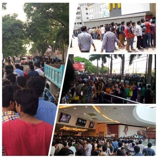 Baahubali,Baahubali Mania,Baahubali tickets,Prabhas,Rana Daggubati,Tamannaah,Anushka Shetty