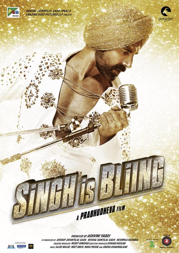 Akshay Kumar,Akshay Kumar as Raftaar Singh,Raftaar Singh,Singh is Bling,actor Akshay Kumar,bollywood movie Singh is Bling,Singh is Bling first look,Singh is Bling poster,Singh is Bling first look poster