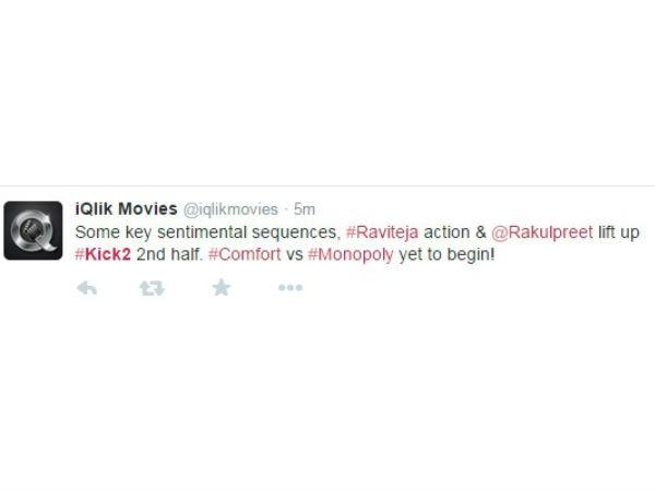 Ravi Teja,kick 2,kick 2 review,kick 2 Live Audience Response,Rakul Preet Singh,telugu movie Kick 2
