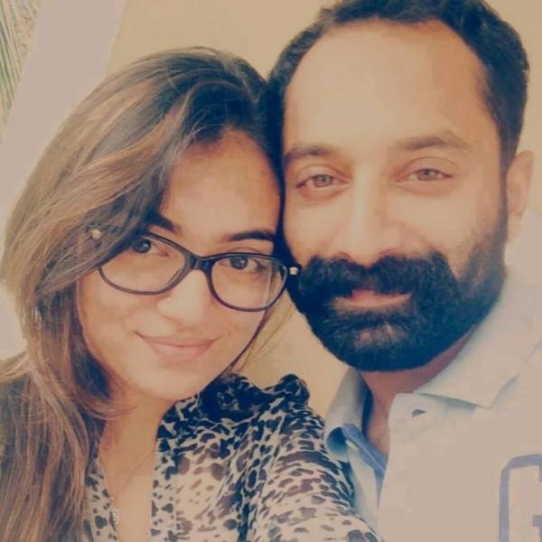 Fahadh Faasil Nazriya Nazim 1st Wedding Anniversary