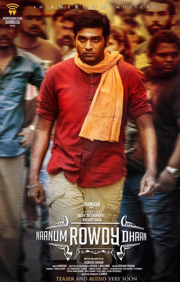 Vijay Sethupathi,Naanum Rowdy Thaan First Look Poster,Naanum Rowdy Thaan,Naanum Rowdy Thaan First Look,Naanum Rowdy Thaan poster
