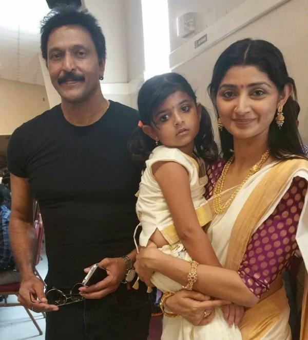 Divya Unni Spotted With Babu Antony Photos