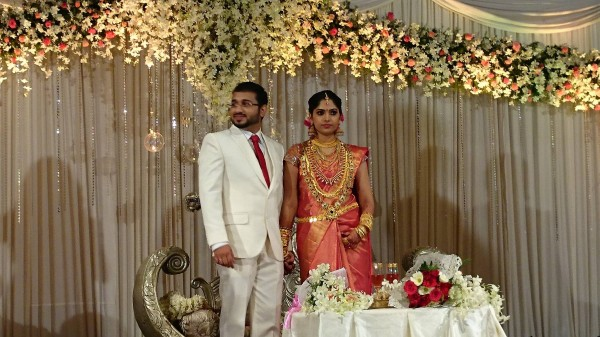 muktha rinku tomy wedding reception pictures   photos