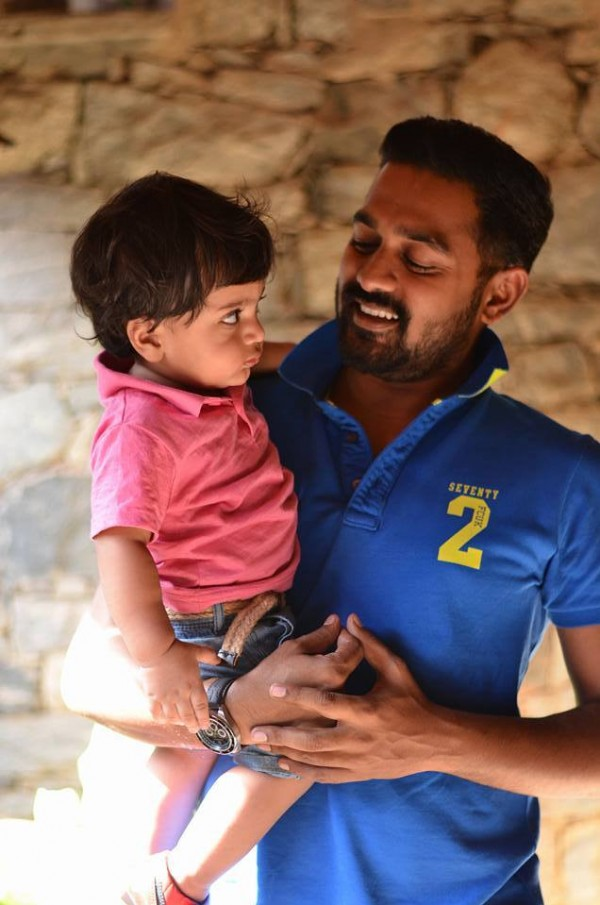 Asif Ali with his Ador...