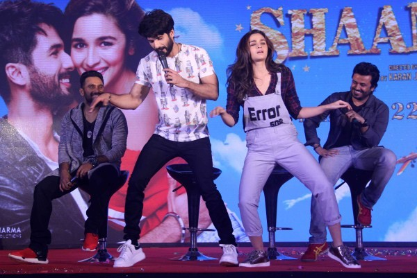 Shaandaar Audio Launch,Shaandaar Audio,Shaandaar,bollywood movie Shaandaar,Shaandaar Song Launch,Shahid Kapoor and Alia Bhatt,Shahid Kapoor,Alia Bhatt,Shaandaar Song Launch pics,Shaandaar Song Launch images,Shaandaar Song Launch photos,Shaandaar Song Laun