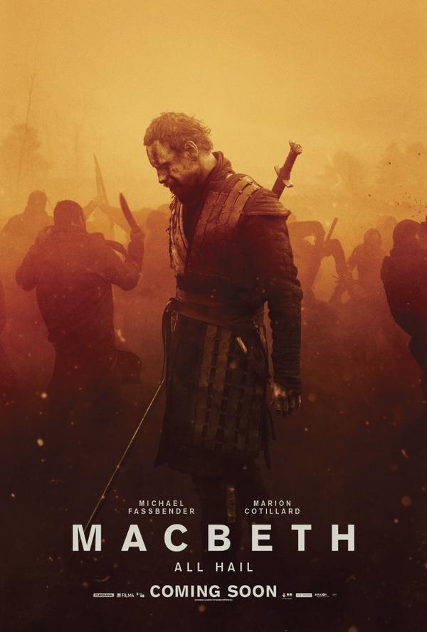 Michael Fassbender,Macbeth First Look Poster,Macbeth First Look,Macbeth,hollywood movie Macbeth