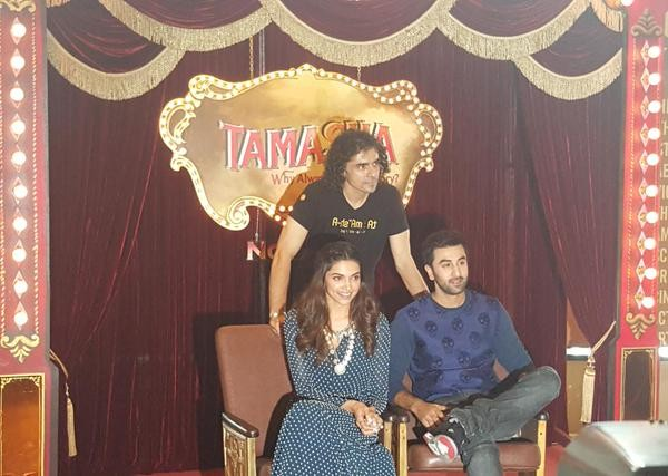 Tamasha Trailer Launch,Tamasha Trailer,Tamasha,bollywood movie Tamasha,Ranbir Kapoor,Deepika Padukone,Ranbir Kapoor and Deepika Padukone,Tamasha audio launch,Tamasha audio