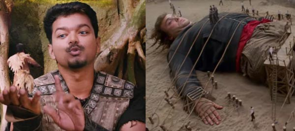 Puli,vijay,ilayathalapathy vijay,Vijay's Puli movie scenes copied from Hollywood,Vijay's Puli movie scenes copied,Puli movie scenes copied from Hollywood,Puli movie scenes copied