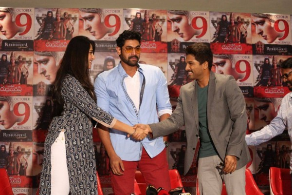 anushka dating allu arjun Directed by krish jagarlamudi with anushka shetty, manoj kumar manchu, allu arjun, manoj bajpayee a terrorist threat puts five people in jeopardy.