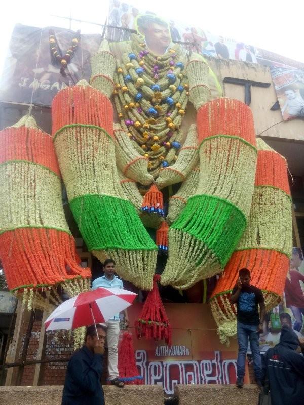 Ajith,Ajith fan,Vedalam celebration,Vedhalam,Vedhalam celebration,Vedalam