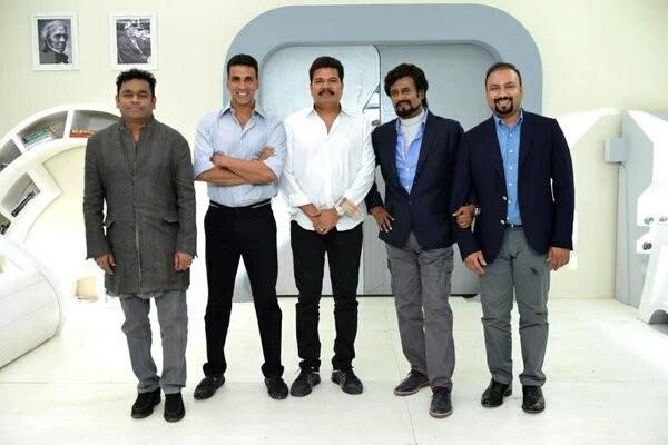 Enthiran 2,Enthiran 2 launched,Enthiran 2 launch photos,Akshay Kumar,Rajinikanth,Akshay kumar,Akshay kumar rajinikanth