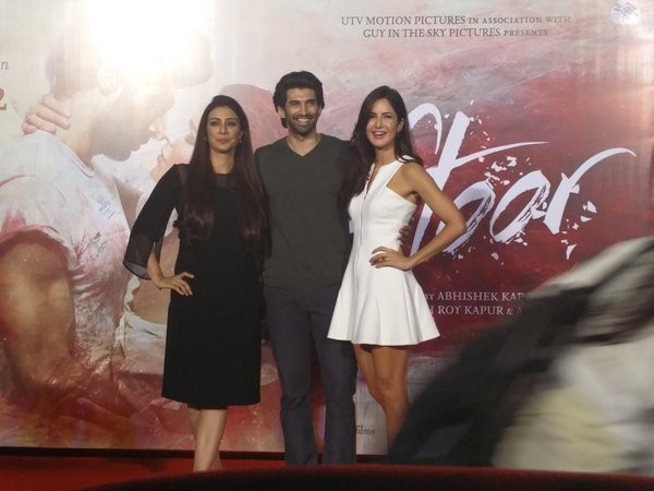 Katrina Kaif,Aditya Roy Kapoor,Fitoor Trailer,Fitoor Trailer launch,Katrina Kaif at Fitoor Trailer launch,Aditya Roy Kapoor at Fitoor Trailer launch,Fitoor Trailer launch pics,Fitoor Trailer launch images,Fitoor Trailer launch photos,Fitoor Trailer launch