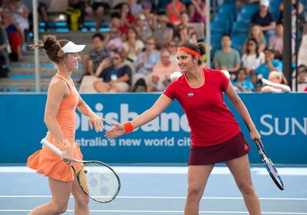 Mirza-Hingis win 25th doubles match,Sania Mirza and Martina Hingis,Sania Mirza,Martina Hingis,Andreja Klepac,Alla Kudryavtseva,Brisbane International,tennis