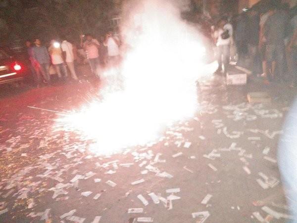 Nannaku Prematho,Nannaku Prematho release,Nannaku Prematho celebrations,Nannaku Prematho Hungama,Jr Ntr,Jr Ntr celebration