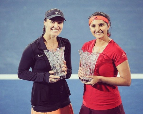 Sania Mirza,Martina Hingis,Sania Mirza and Martina Hingis,Sydney International women's doubles title,Indo-Swiss pair,Indo-Swiss,women's doubles title,women's doubles,Tennis