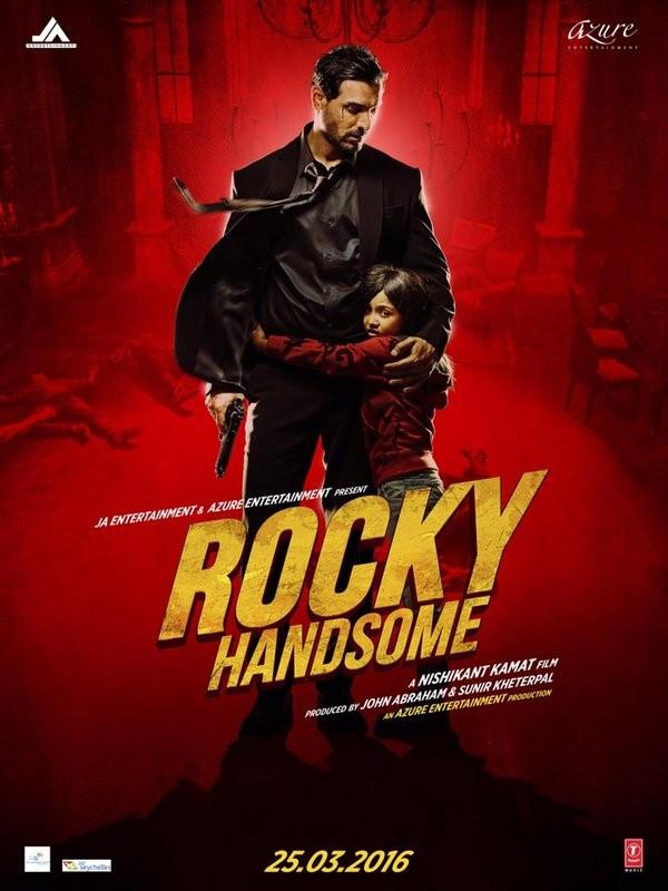 John Abraham,Rocky Handsome,Rocky Handsome first look,Rocky Handsome first look poster,Rocky Handsome poster,Nishikant Kamat