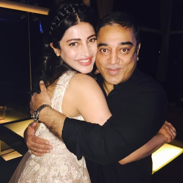 Kamal Haasan,Tamannaah,Shruthi Hassan Birthday Celebration,Kamal Haasan at Shruthi Hassan Birthday Celebration,Tamannaah at Shruthi Hassan Birthday Celebration,Shruthi Hassan,Shruthi Hassan Birthday Celebration pics,Shruthi Hassan Birthday Celebration ima