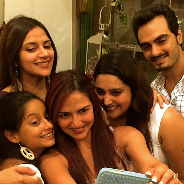 Ahaana Deol,Hema Malini,Esha Deol,Baby Shower,star kids,new mom,photos