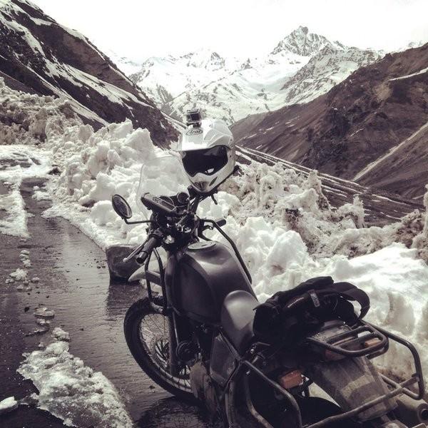 Royal Enfield,Royal Enfield Himalayan,Royal Enfield Himalayan Launch,Royal Enfield Himalayan adventure tourer,Royal Enfield unveils new bike Himalayan in India,new bike Himalayan,Himalayan bike,Himalayan bike launch,Himalayan bike photos,Himalayan bike st