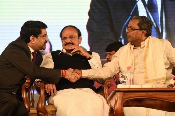 Invest Karnataka,Invest Karnataka 2016,Arun Jately,Siddaramaiah,Arun Jately and Siddaramaiah,Ratan Tata