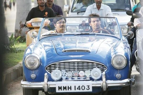 Bangalore Naatkal,tamil movie Bangalore Naatkal,Bangalore Naatkal movie review,Bangalore Naatkal review,Rana Daggubati,Arya,Bobby Simha,Sri Divya,samantha,Bangalore Naatkal movie stills,Bangalore Naatkal movie pics,Bangalore Naatkal movie images,Bangalore
