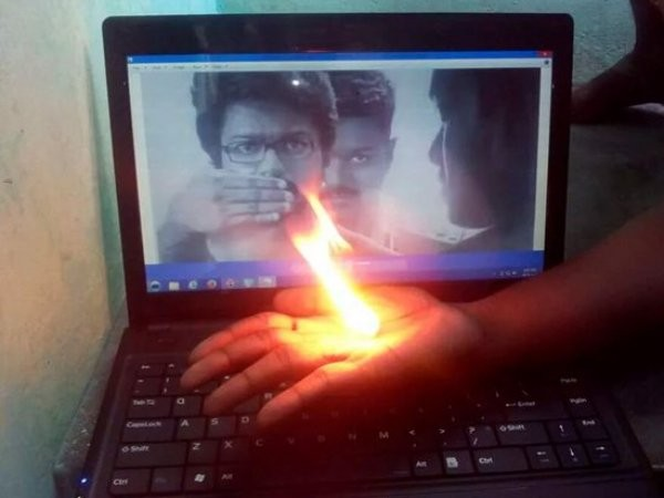 Vijay,Vijay Theri teaser celebrations,Theri teaser celebrations,Theri teaser,Theri,ilayathalapathy vijay,ilayathalapathy,Samantha,Amy Jackson,Theri teaser celebrations pics,Theri teaser celebrations images,Theri teaser celebrations photos,vijay fans