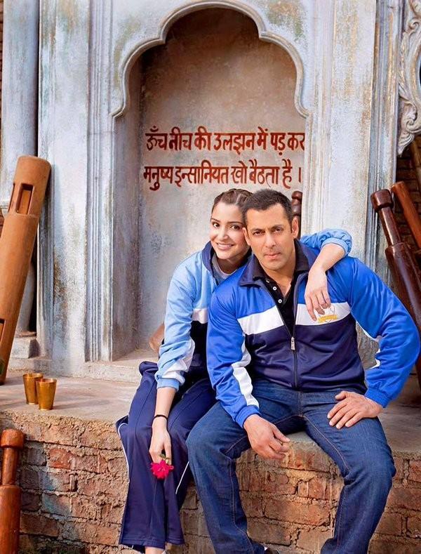 salman khan anushka sharma share new look from sultan
