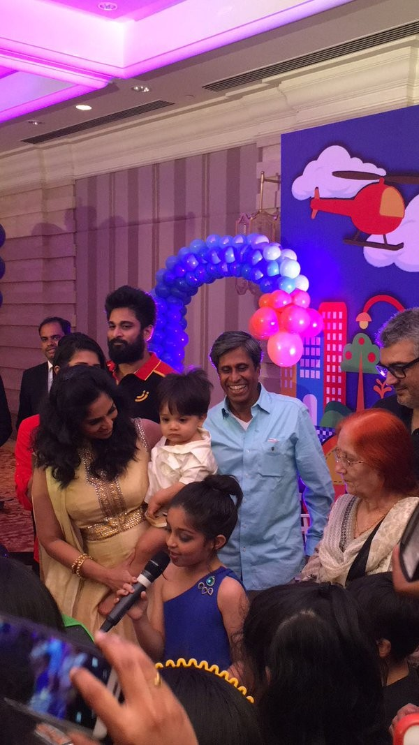 Thala Ajith And Shalini Celebrate Aadvik S First Birthday