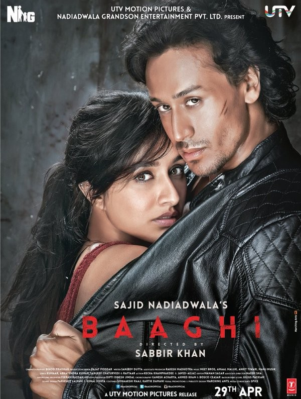Shraddha Kapoor,Tiger Shroff,Shraddha Kapoor and Tiger Shroff,Baaghi: Rebels in Love first look poster,Baaghi: Rebels in Love poster,Baaghi: Rebels in Love first look,Baaghi: Rebels in Love,Shraddha Kapoor and Tiger Shroff in Baaghi: Rebels in Love