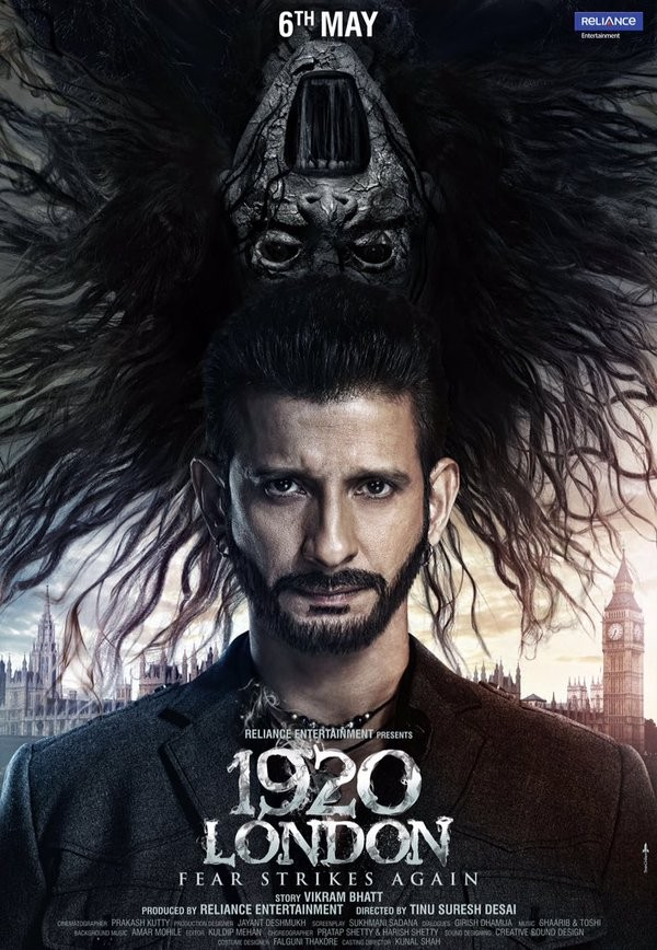 Sharman Joshi,1920 London first look poster,1920 London first look,1920 London poster,actor Sharman Joshi,Meera Chopra