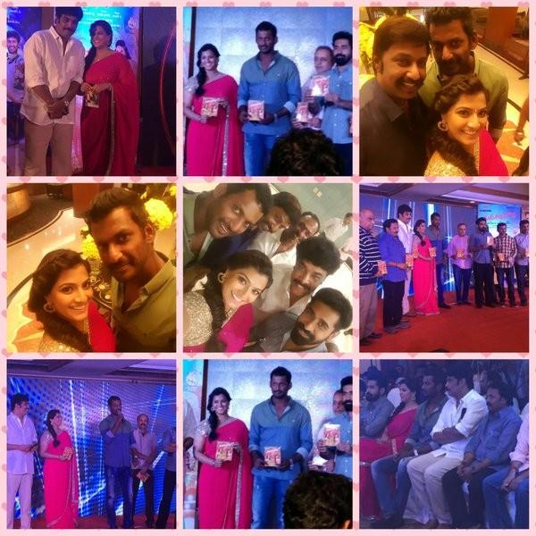 Madha Gaja Raja Audio Launch,Madha Gaja Raja Audio,Madha Gaja Raja,Vishal,Varalaxmi,Vijay Antony,Sundar C,Vishal and Varalaxmi,Vishal and Varalaxmi Sarathkumar,Varalaxmi Sarathkumar,Madha Gaja Raja Audio Launch pics,Madha Gaja Raja Audio Launch images,Mad