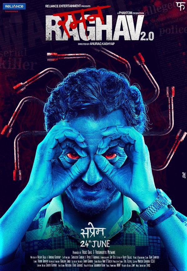 Nawazuddin Siddiqui,Raman Raghav 2.0 First Look revealed,Raman Raghav 2.0 First Look,Raman Raghav 2.0 First Look poster,Raman Raghav 2.0 poster,Raman Raghav 2.0,Bollywood movie Raman Raghav 2.0