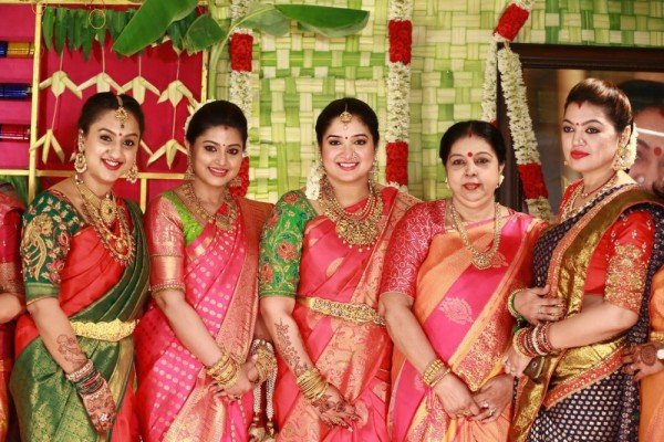 sridevi vijayakumar baby shower photos   photos
