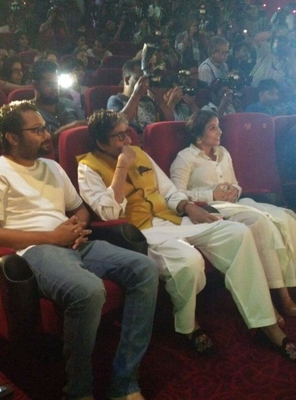 TE3N trailer,Amitabh Bachchan at TE3N trailer launch,TE3N trailer launch,TE3N trailer launch pics,TE3N trailer launch images,TE3N trailer launch photos,TE3N trailer launch stills,TE3N trailer launch pictures,TE3N trailer pics,TE3N trailer images,TE3N trai