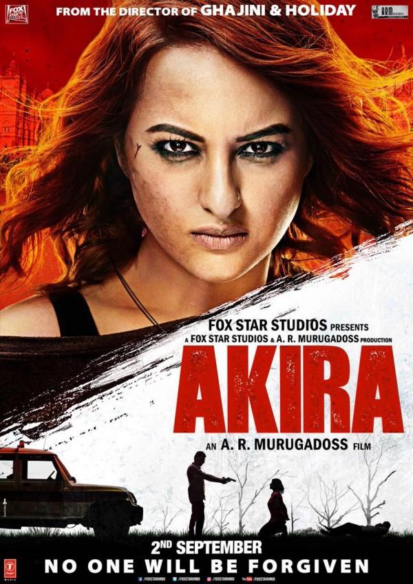 sonakshi sinhas akira movie poster photosimages