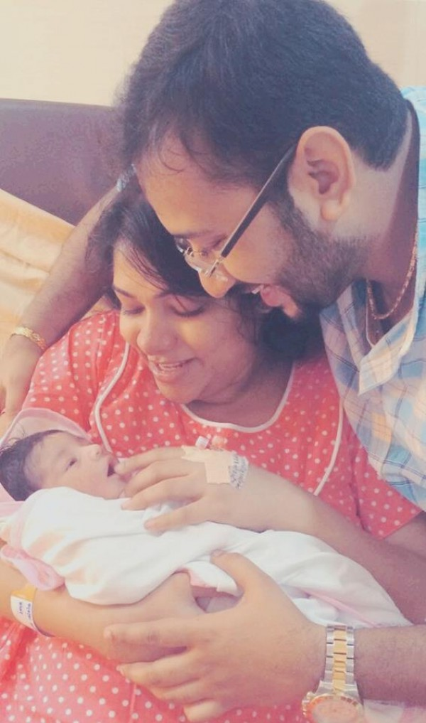 Actress Muktha Shares Baby Kanmani S Photo Photos
