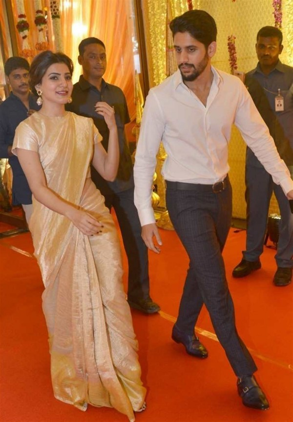 Samantha And Naga Chaitanya At Nimmagadda Prasad Daughter
