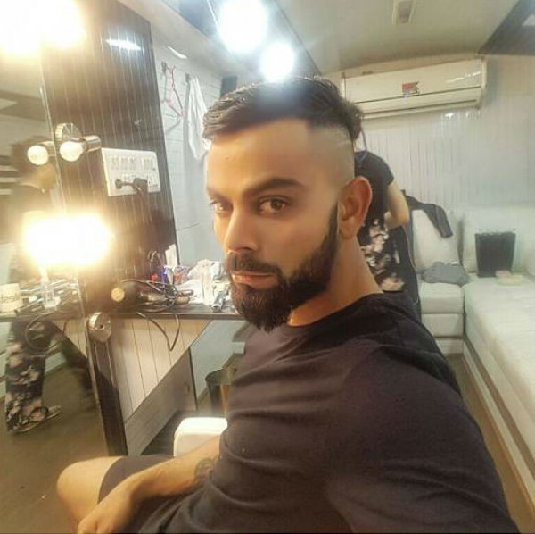 Virat Kohli Flaunts New Hairstyle Ahead Of New Zealand