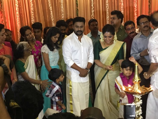 Mammootty At Dileep And Kavya Madhavan Wedding Pictures