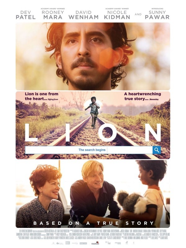 Dev Patel,Sunny Pawar,Lion movie poster,Lion poster,Hollywood movie Lion,Lion movie pics,Lion movie images,Lion movie photos,Lion movie stills,Lion movie pictures