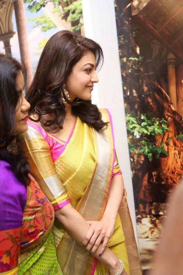 kajal aggarwal launches trisha designer store