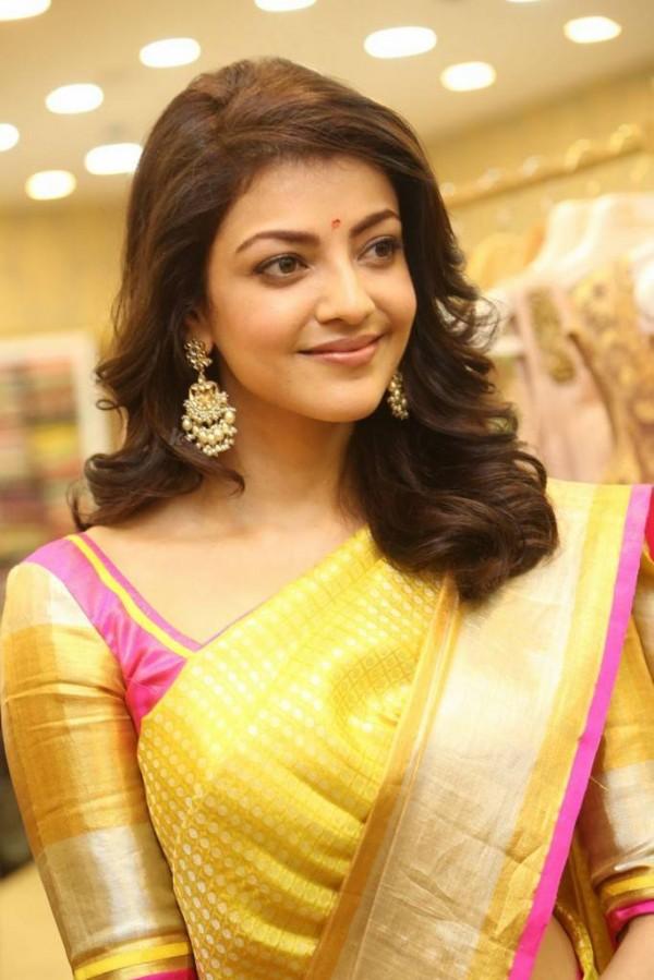 Kajal Aggarwal Launches Trisha Designer Store Photos