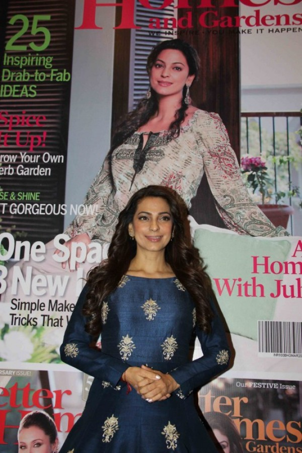 10th Anniversary Celebration And Cover Launch With Juhi